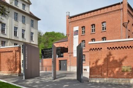 Eingang der Gedenk- und Bildungsstätte Andreasstraße (Foto: Claus Bach)