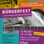 Plakat zum Bürgerfest 2021 (Grafik: Anke Heelemann)