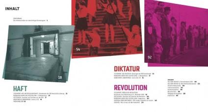 Inhaltsverzechnis des Ausstellungsbuchs