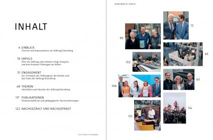 Inhalt Jahresbericht 2018/19